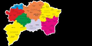 mapa vychodneho slovenska