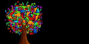 farebny strom